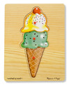 Ice Cream Cone Peg Puzzle