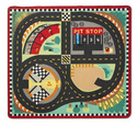 Round the Speedway Race Track Rug & Car Set