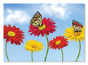 Dancing Daisies Cardboard Jigsaw - 60 Pieces