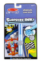 On the Go Surprize Ink!  Travel Activity Book - Vehicles