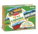 Trains Linking Floor Puzzle (96 pc)