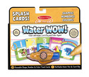 Water WOW! Number, Color, Shape Cards - ON the GO Travel Activity
