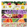 Flower Ribbons Cardboard Jigsaw - 500 Pieces