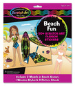 Scratch Art® Fashion Sticker Scenes - Beach Fun
