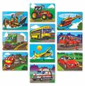 Favorite Vehicles Puzzle Set