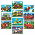 Favorite Vehicles Puzzle Set
