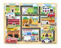 Vehicles Maze Puzzle