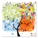 Seasons Tree Cardboard Jigsaw - 200 Pieces