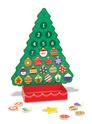 Countdown to Christmas Wooden Seasonal Calendar