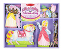 Lila & Lucky Princess & Pony Magnetic Dress-Up Set