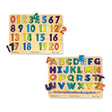 Numbers & Alphabet Sound Puzzle Bundle