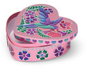 Sweetheart Treasure Box Peel & Press Sticker by Number