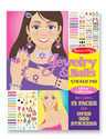 Jewelry & Nails Glitter Stickers Pad