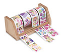 Dress-Up Stickers Roll - Princess & Fairy
