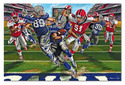 Touchdown! Football Floor Puzzle - 48 pieces