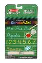 On the Go Scratch Art: ABC & 123 Writing Pad