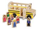 Wooden Classic School Bus