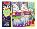 3D Coloring Book - Animals