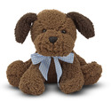 Meadow Medley Chocolate Puppy Dog Stuffed Animal