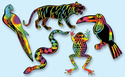 Scratch Art Rainforest Scratchin' Shapes Group Pack