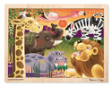 African Plains Wooden Jigsaw Puzzle - 24 Pieces
