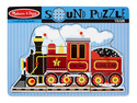 Train Sound Puzzle - 9 Pieces