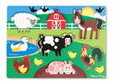 Farm Peg Puzzle - 8 pieces