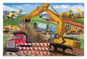 Building Site Floor Puzzle - 48 Pieces
