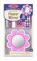 Decorate-Your-Own Wooden Flower Mirror