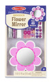 Decorate-Your-Own Wooden Flower Mirror