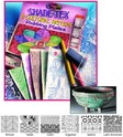 Scratch Art Shade-Tex Rubbing Plates - Cultural Patterns Set