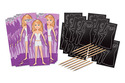 Scratch Art® Party Pack - Fashion