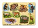 Wooden Zoo Peg Puzzle