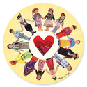 Circle of Friends Cardboard Jigsaw - 100 Pieces