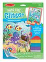 Mess-Free Glitter Underwater Scenes