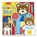 Pattern-Match Lacing Set - Button-Up Bear
