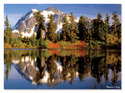 Mountain Reflection Cardboard Jigsaw - 300 Pieces