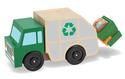 Garbage Truck Wooden Vehicle