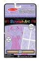 On the Go Scratch Art: Learn-to-Draw Pad - Fashion Friends