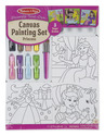 DecorateYour Own - Canvas Creations Painting Set - Princess