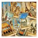 Postcards from Europe Cardboard Jigsaw - 1000 Pieces