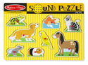 Pets Sound Puzzle - 8 Pieces