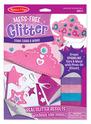 Mess-Free Glitter Foam Tiara and Wand
