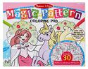 Magic-Pattern Marker Coloring Pad - Pink