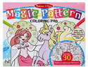 Magic-Pattern Marker Coloring Pad - Pink
