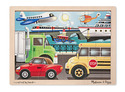 On the Go Wooden Jigsaw Puzzle - 12 Pieces