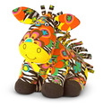 Beeposh Zelda Zebra Stuffed Animal
