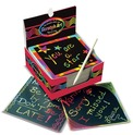 Scratch Art® Box of Rainbow Mini Notes