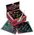 Scratch Art® Box of Rainbow Mini Notes