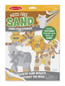 Mess-Free Sand Jumbo Foam Stickers - Jungle